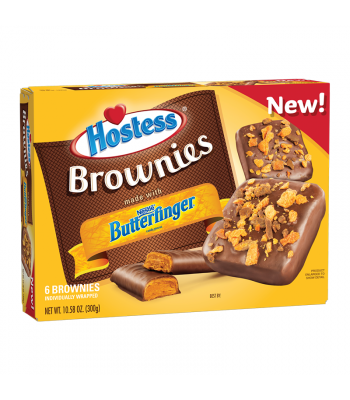Hostess Butterfinger Brownie 6-Pack 10.58oz (300g)