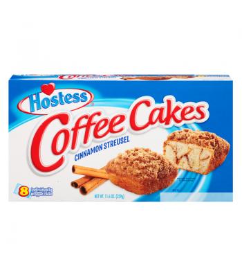 Hostess - Cinnamon Streusel Coffee Cake - SINGLE (41g) Snack Cakes Hostess