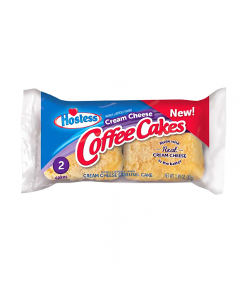 Hostess Cream Cheese Coffee Cakes Twin Pack - 2.89oz (82g) Cookies and Cakes Hostess