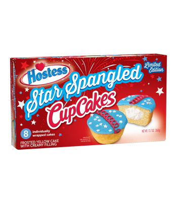 Hostess Star Spangled Cupcakes 8-Pack 12.7oz (360g)