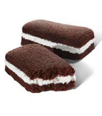 Hostess Suzy Q's 50% More Cream  - SINGLE Cookies and Cakes Hostess