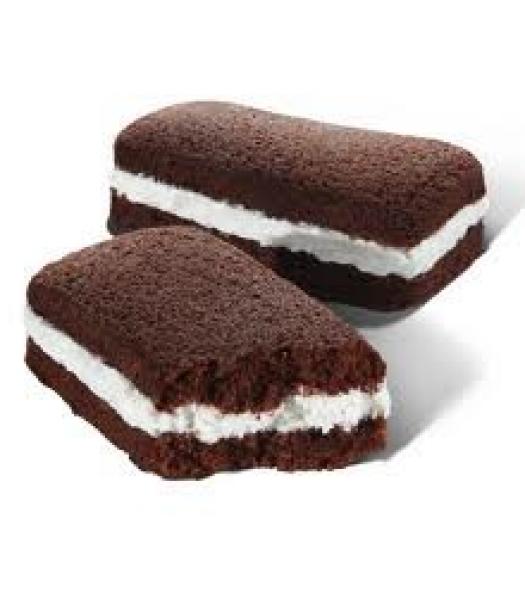 Hostess Suzy Q's 50% More Cream  - SINGLE Cookies and Cakes Hostess