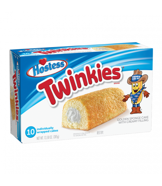 Hostess Twinkies 10-Pack 13.5oz (385g)  Hostess