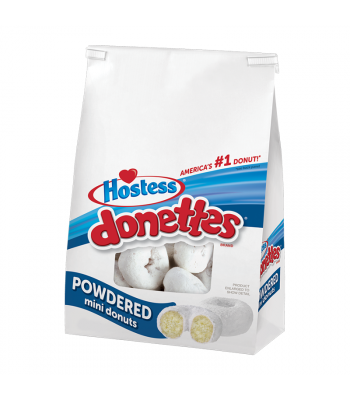 Hostess Powdered Sugar Mini Donettes 10.5oz (298g) Food and Groceries Hostess