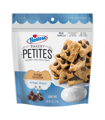 Hostess Bakery Petites Fudge Blondie Crispi Thins - 6oz (170g) Cookies and Cakes Hostess