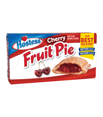 Hostess Cherry Fruit Pie - 4.25oz (120g) Cookies and Cakes Hostess