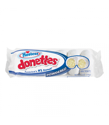 Hostess Powdered Mini Donettes - 3oz (85g) Cookies and Cakes Hostess
