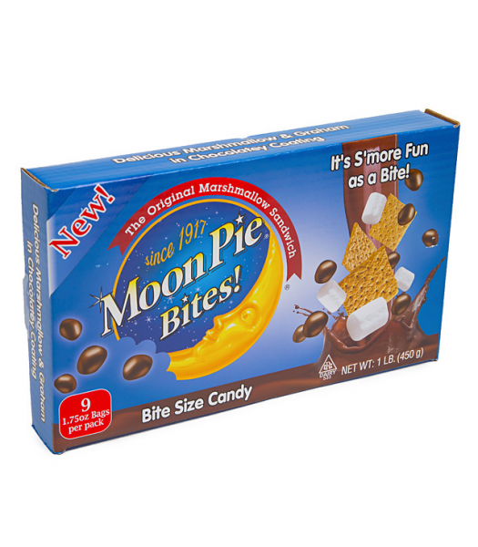 Moon Pie Bites Theatre Box 3.1oz (88g) Sweets and Candy Moon Pie