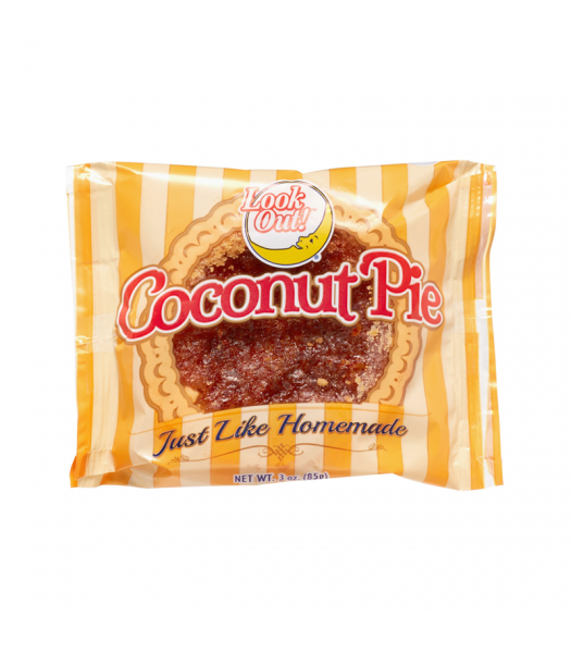 Clearance Special - Look Out! Coconut Pie - 3oz (85g) **Best Before: 18 July 21** Clearance Zone