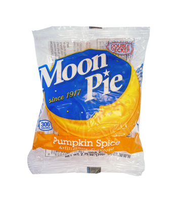 Chattanooga Double Decker Moon Pie Pumpkin Spice - 2.75oz (78g) Cookies and Cakes Moon Pie