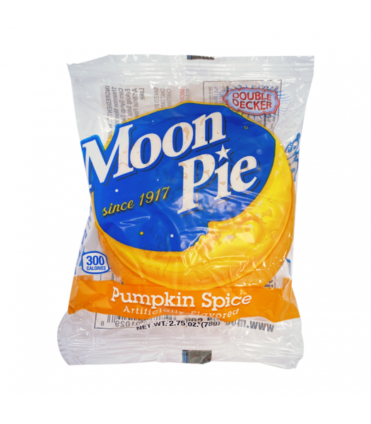 Clearance Special - Chattanooga Double Decker Moon Pie Pumpkin Spice - 2.75oz (78g) **Best Before: 16 March 21** Clearance Zone
