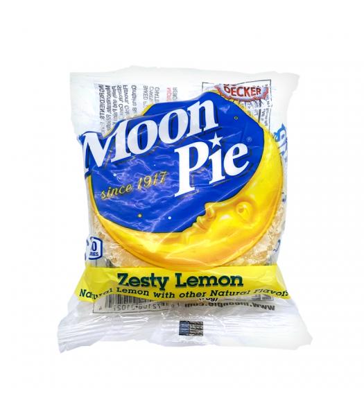 Moon Pie Zesty Lemon Double Decker - 2.75oz (78g) Cookies and Cakes Moon Pie