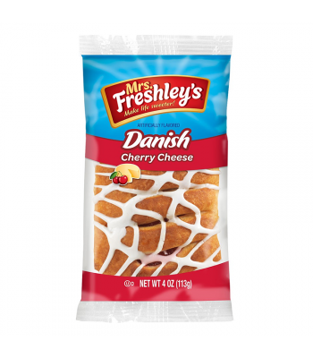 Mrs Freshley's - Cherry Cheese Danish - 4oz (113g) Cookies and Cakes Mrs Freshley's