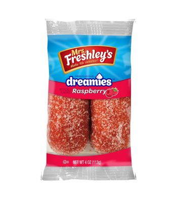 Mrs Freshley's Raspberry Dreamies Twin Pack 4oz (113g) Cookies and Cakes Mrs Freshley's