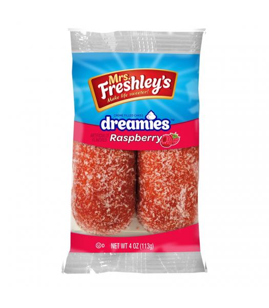 Mrs Freshley's Raspberry Dreamies Twin Pack 4oz (113g) Cookies and Cakes Mrs Freshley's