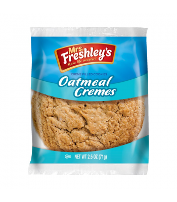 Mrs Freshley's Oatmeal Creme Pie 2.5oz (71g) Cookies & Biscuits Mrs Freshley's
