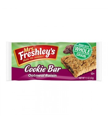 Mrs Freshley's Oatmeal Raisin Cookie Bar - 1.5oz (43g) Cookies and Cakes Mrs Freshley's