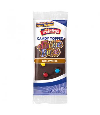 Mrs Freshleys Candy Topped Fudge Bake Brownie 2.75oz (78g) Brownies & Bars Mrs Freshley's
