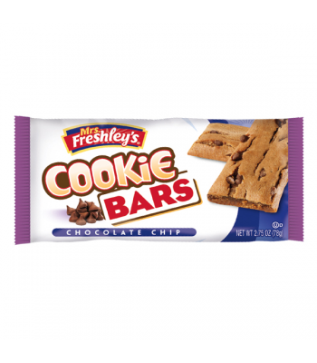 Mrs Freshley's Chocolate Chip Cookie Bar 1.75oz (50g) Brownies & Bars Mrs Freshley's