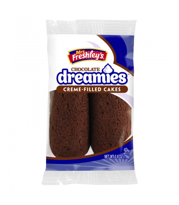 Mrs Freshley's Chocolate Dreamies Twin Pack 2.8oz Snack Cakes Mrs Freshley's
