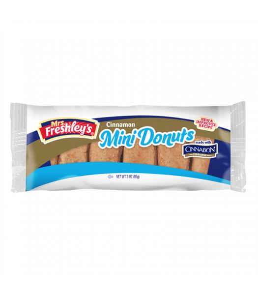 Mrs Freshley's Cinnamon Mini Donuts 3oz (85g) Donuts Mrs Freshley's