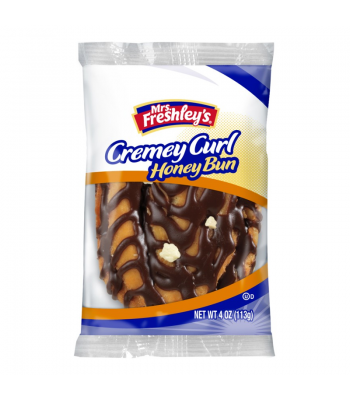 Mrs Freshley's - Cremey Curl Honey Bun - 4oz (113g)