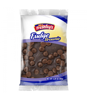 Mrs Freshley's - Large Fudge Brownie - 3.25oz (92g)