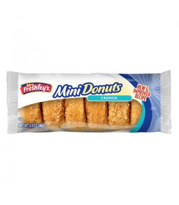 Mrs Freshley's Crunch Mini Donuts 3.4oz (96g) Donuts Mrs Freshley's