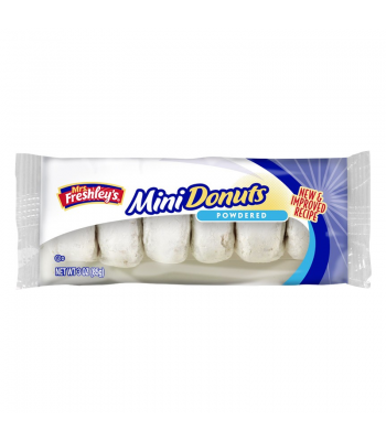 Mrs Freshley's Powdered Mini Donuts 3oz (85g) Donuts Mrs Freshley's