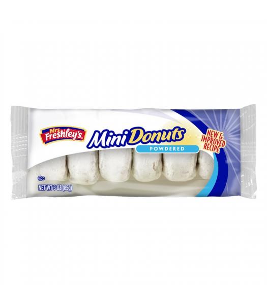 Mrs Freshley's Powdered Mini Donuts 3oz (85g) Donuts Mrs Freshley's