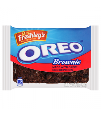 Mrs Freshley's - Oreo Brownie - 3oz (85g)