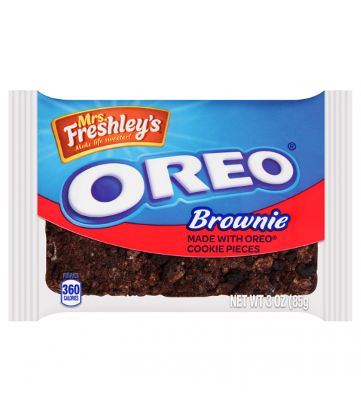 Mrs Freshley's - Oreo Brownie - 3oz (85g) Cookies and Cakes Mrs Freshley's