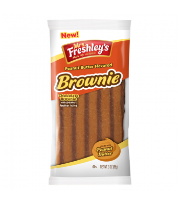 Mrs Freshley's Peanut Butter Chocolate Brownie 3oz (85g)