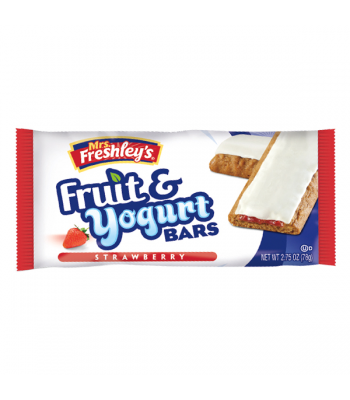 Mrs Freshley's Fruit & Yoghurt Bar - Strawberry 1.75oz (50g) Brownies & Bars Mrs Freshley's