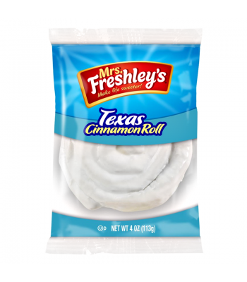Mrs Freshley's - Texas Cinnamon Roll - 4oz (113g) Snack Cakes Mrs Freshley's