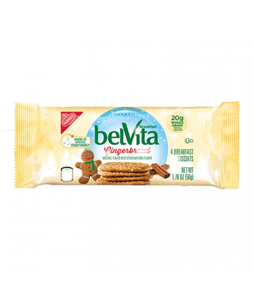 Belvita Gingerbread Breakfast Biscuits - 1.76oz (50g) Cookies and Cakes