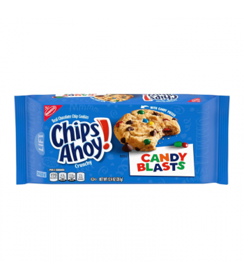 Chips Ahoy! Candy Blasts - 12.4oz (351g) Cookies and Cakes Chips Ahoy