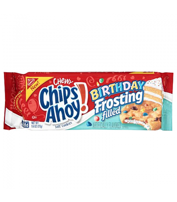 Clearance Special - Chips Ahoy! Chewy Birthday Frosting Filled Cookies 9.6oz (273g) ** Best Before: 17 March 2017 ** Clearance Zone
