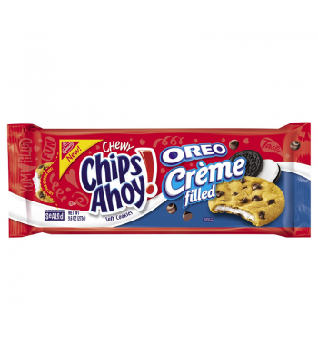Clearance Special - Chips Ahoy! Chewy OREO Creme Filled Cookies 9.6oz (273g) ** Best Before: 17 May 2017 ** Clearance Zone