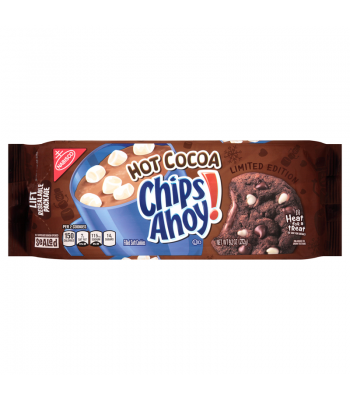 Chips Ahoy! Chewy Hot Cocoa Cookies 9.6oz (272g) Cookies & Biscuits Chips Ahoy