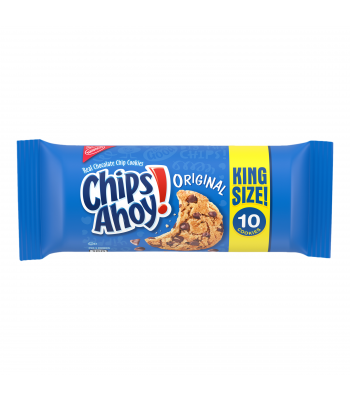 Chips Ahoy! Original King Size 10 Cookies - 3.75oz (106g) Cookies and Cakes Chips Ahoy