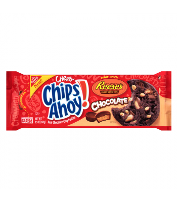 Clearance Special - Chips Ahoy! Chewy Reeses Peanut Butter Cup Original Cookies (Red Packet) 9.5oz (270g) ** Best Before: 22 March 2017 ** Clearance Zone