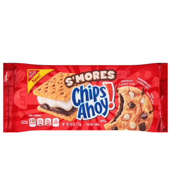 Chips Ahoy! S'mores Filled Soft Cookies - 9.6oz (272g)