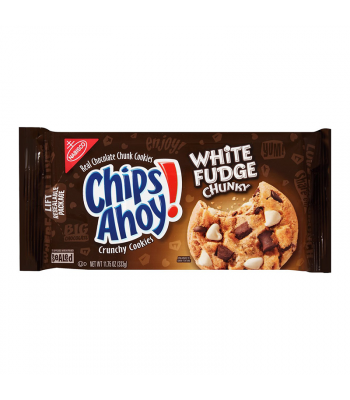 Chips Ahoy! White Fudge Chunky Cookies - 11.75oz (333g) Cookies and Cakes Chips Ahoy