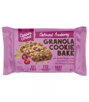 Cooper Street - Oatmeal Cranberry Granola Cookie Bake - 1oz (28g) Cookies & Biscuits Cooper Street
