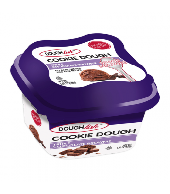 Doughlish Triple Chocolate Brownie Cookie Dough - 4.5oz (128g) Sweets and Candy