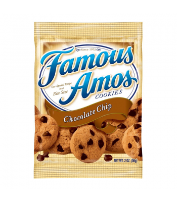 Famous Amos Bite Size Cookies Chocolate Chip 2oz (56g) Cookies and Cakes