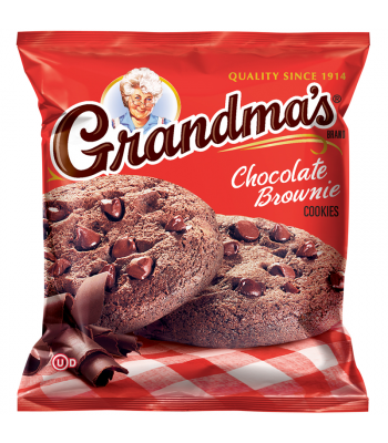Clearance Special - Grandmas Cookies Chocolate Brownie - 2.5oz (71g) **Best Before: 08 May 18** Clearance Zone