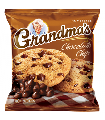 Clearance Special - Grandmas Cookies Chocolate Chip - 2.5oz (71g) **Best Before: 24 April 18** Clearance Zone