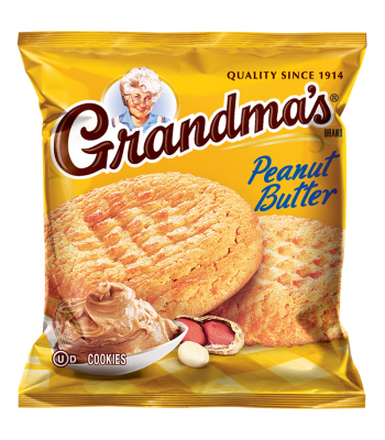Clearance Special - Grandmas Cookies Peanut Butter - 2.5oz (71g) **Best Before: 24 April 18** Clearance Zone